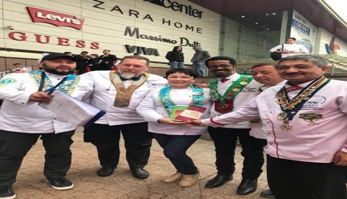 Главный кулинар Азербайджана принял участие в шоу Chef Battle 2018 в Казахстане