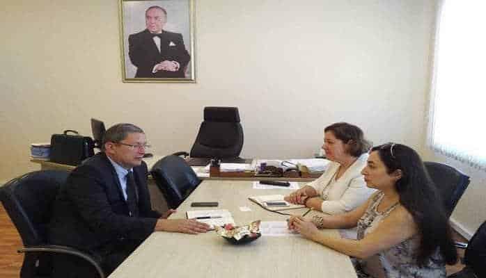 Представитель ВОЗ и директор Центра Аналитической Экспертизы обсудили вопросы развития сотрудничества
