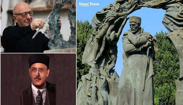 Бакинская городская скульптура: История создания памятника Гусейну Джавиду