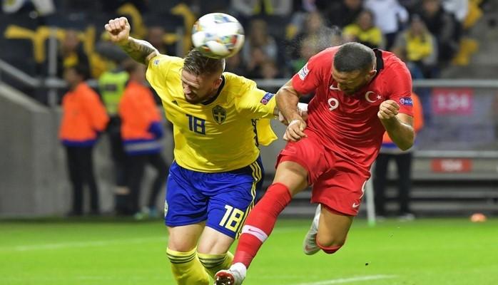 Сборная Турции одержала волевую победу над командой Швеции в матче Лиги наций