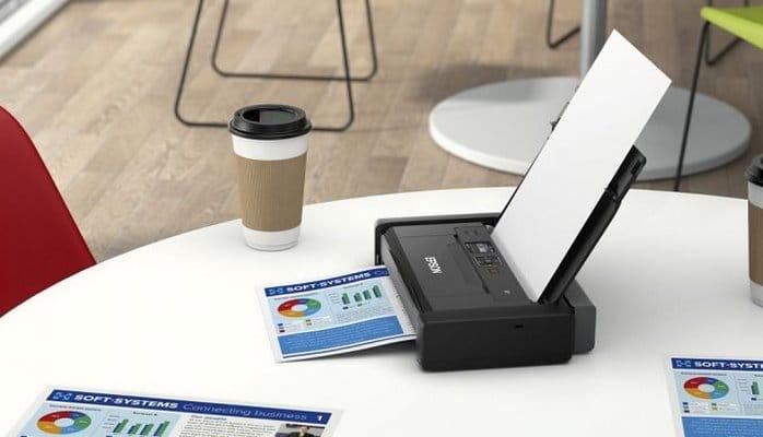 Компания Epson выпустила самый портативный принтер в мире