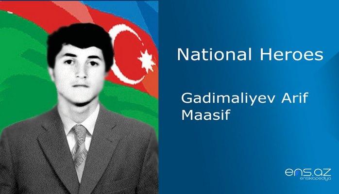 Gadimaliyev Arif Maasif