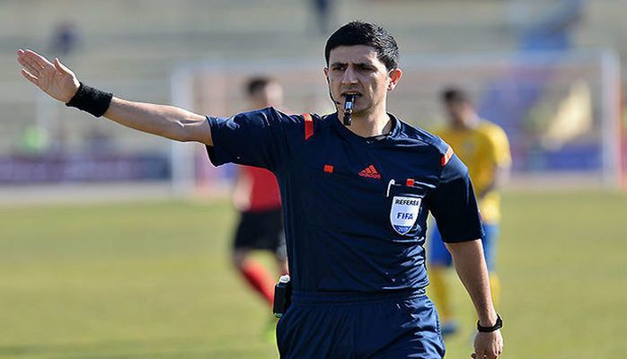 Алияр Агаев назначен на матч Евро-2020