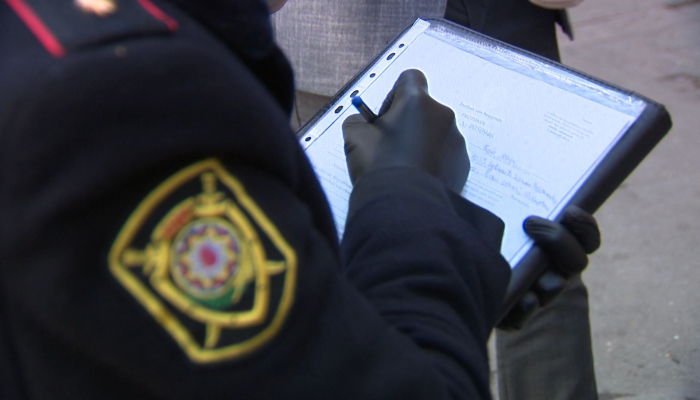 В Азербайджане к ответственности привлечены еще 1 818 водителей, нарушивших режим карантина