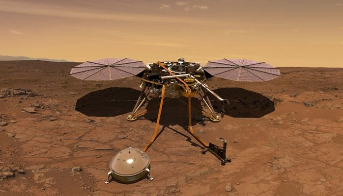 "NASA-nın kosmik raketi Marsdan ""selfi"" göndərdi"