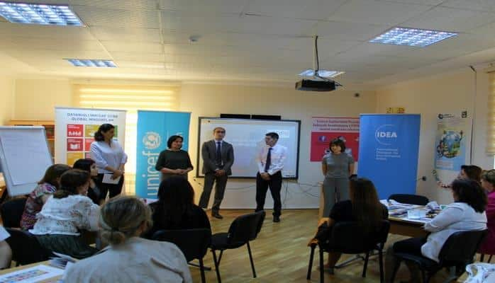 В Азербайджане проводится «Самый большой урок в мире»