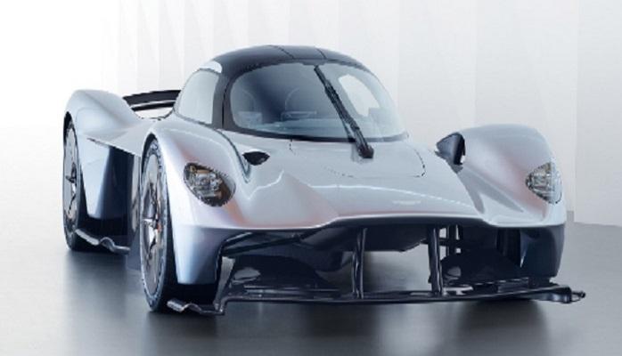 Aston Martin показала 1000-сильный мотор гиперкара Valkyrie