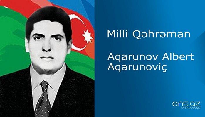 Albert Aqarunov Aqarunoviç