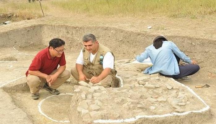 Qəbələdə antik yaşayış binası aşkarlandı