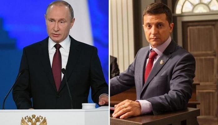 Путин назвал Зеленского симпатичным