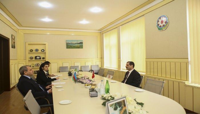 Посол Турции Эркан Озорал посетил БГУ
