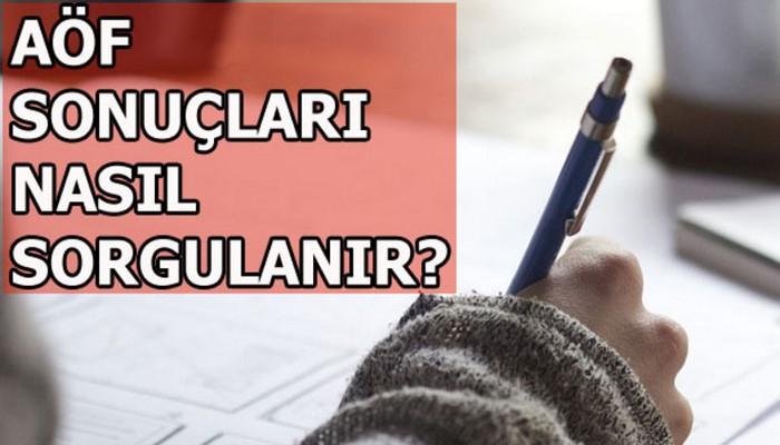 AÖF sınav sonuçları nasıl sorgulanır? AÖF'ten sınav açıklaması...