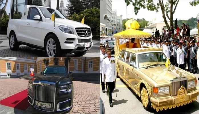 Ən bahalı avtomobili olan dövlət başçıları
