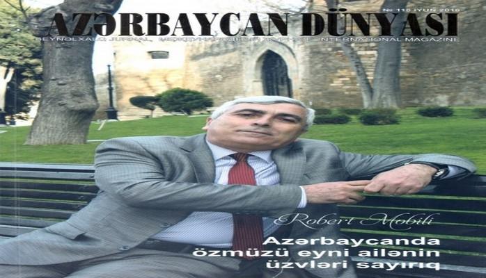 """""""Azərbaycan dünyası"""" beynəlxalq jurnalının təqdimatı olub"""