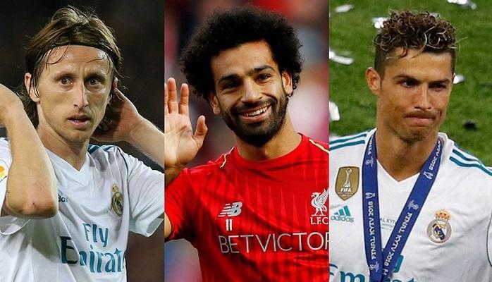 ФИФА назвала кандидатов на звание лучшего футболиста года