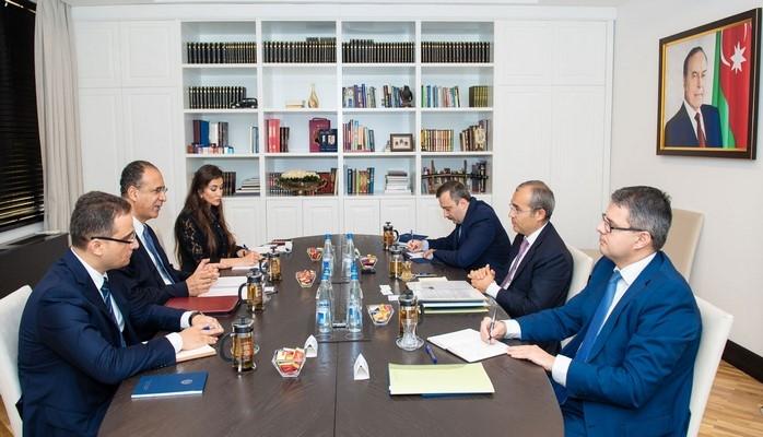 Министр налогов встретился с главой миссии МВФ в Азербайджане