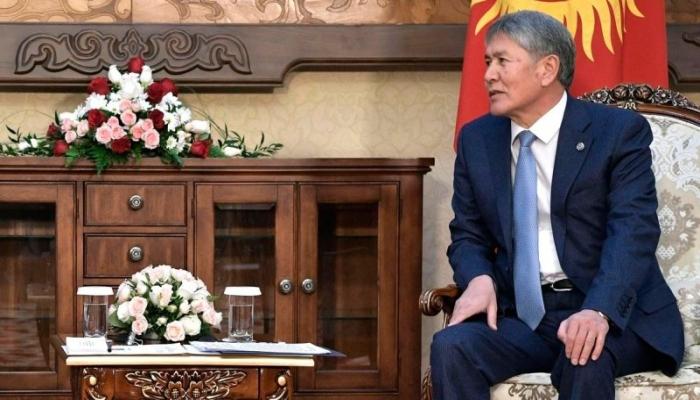 Atambayevin telekanalının əmlakına həbs qoyuldu