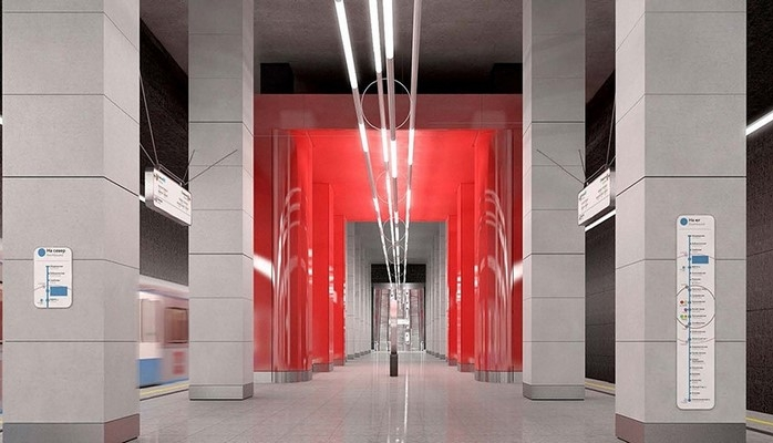 В московском метро появится станция в стиле авангард