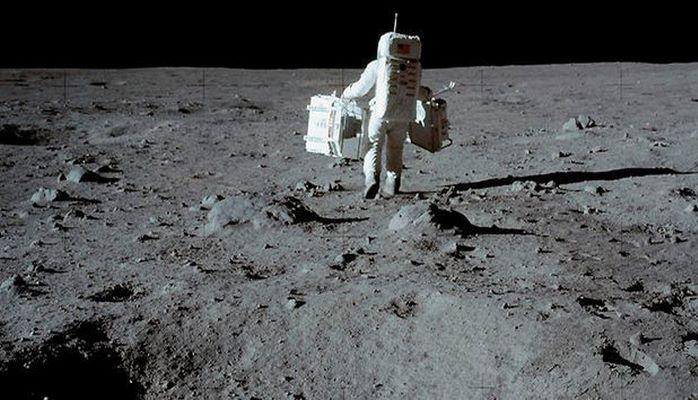 NASA astronavtların Ayda yıxılmalarını göstərdi