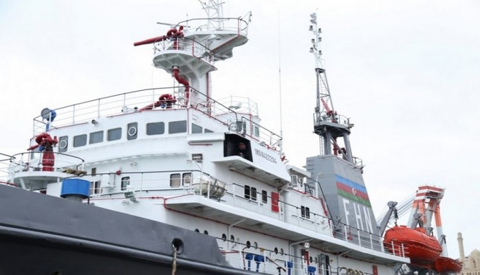 Завершился ремонт противопожарного судна «Вихрь-8»