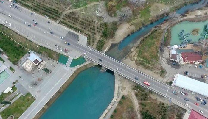 Построен мост через реку Тертер