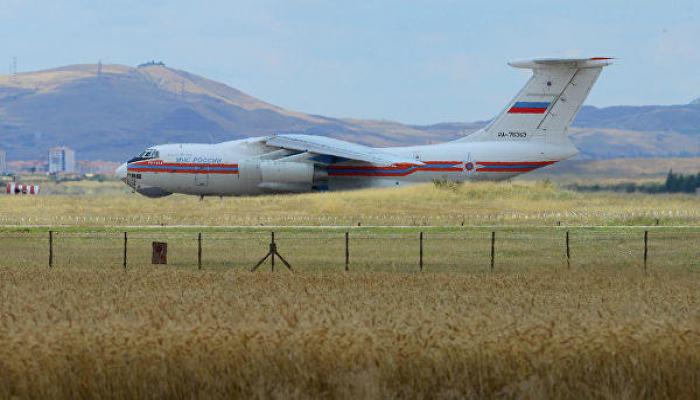Десятый российский самолет с компонентами ЗРК С-400 прибыл в Турцию