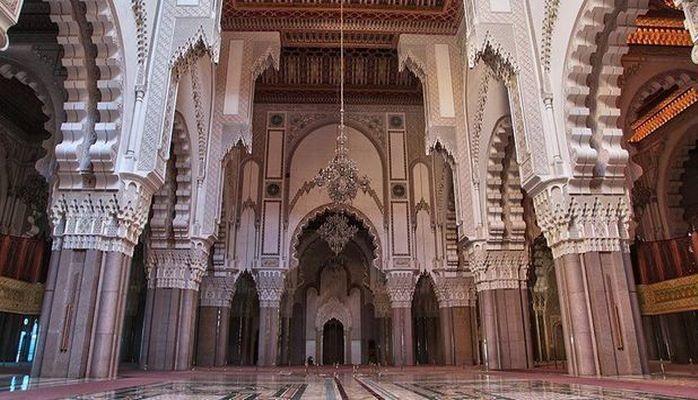 Самая высокая мечеть на побережье Атлантического океана