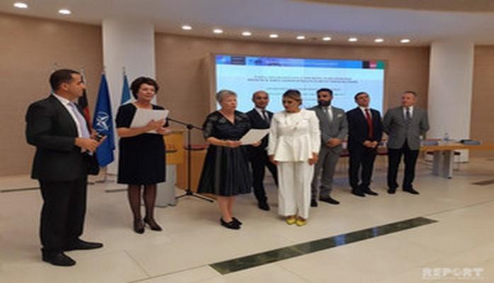 В Баку состоялось вручение сертификатов выпускникам программы НАТО по Афганистану