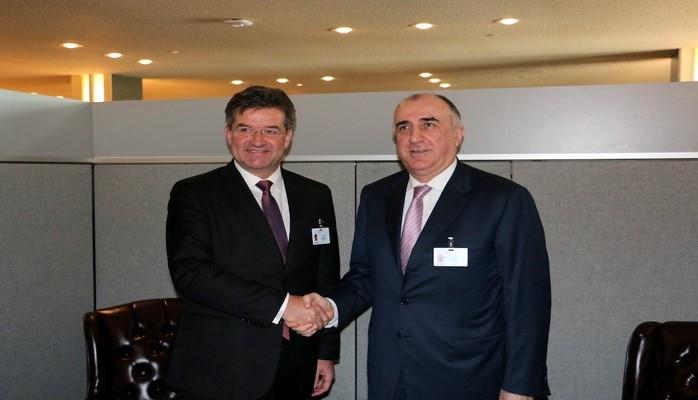 Эльмар Мамедъяров обсудил с европейскими коллегами вопросы расширения отношений между Азербайджаном и ЕС