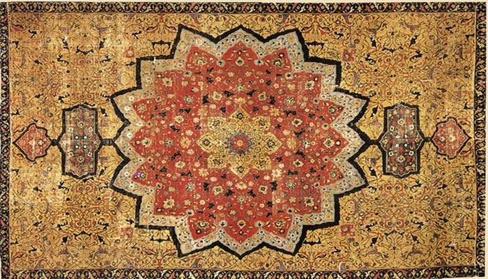 Как появились ковры