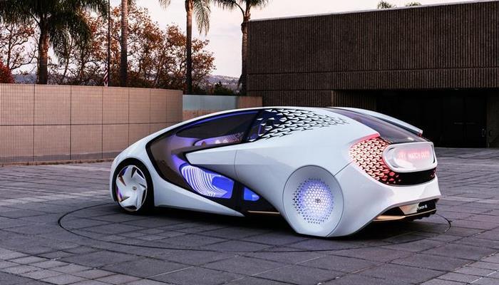 Toyota показала олимпийский автомобиль
