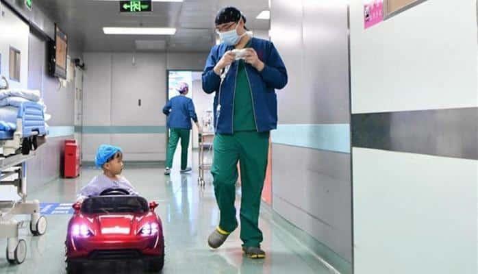 Çində uşaqların əməliyyatından əvvəl maraqlı üsul
