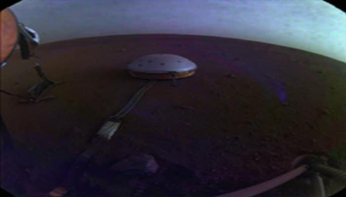 NASA'nın Uzay Aracı InSight, Mars'ta Güneşin Doğuşunu ve Batışını Görüntüledi