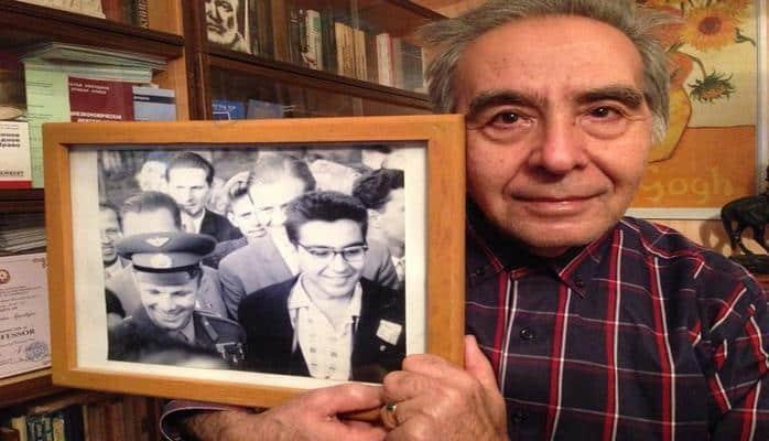 Историческая встреча Юрия Гагарина с азербайджанской молодежью