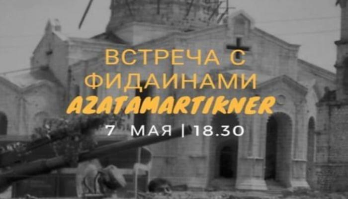 Erməni diasporu Moskvada Şuşanın işğalı ilə bağlı tədbir keçirəcək
