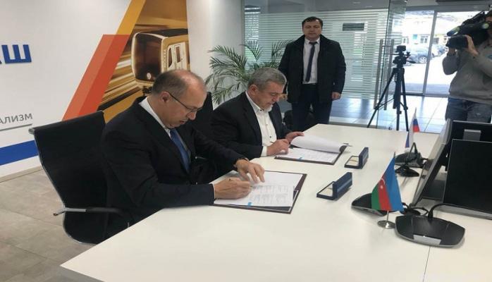Бакинский метрополитен подписал контракт на покупку новых вагонов из России