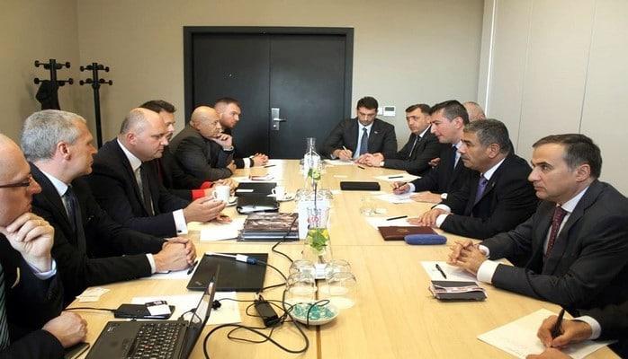 Закир Гасанов встретился с руководством холдинга Czechoslovak Group
