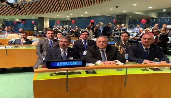 Закир Гасанов на конференции ООН