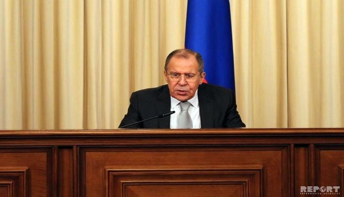 """Sergey Lavrov: """"Rusiyaya güclü təzyiq göstərilir"""""""