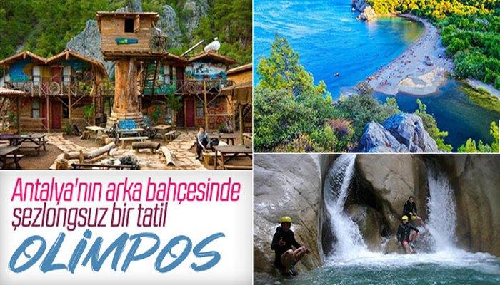 Antalya ezberini bozuyorum: Tatil Olimpos'ta diyorum