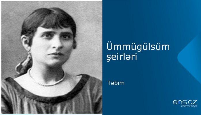 Ümmügülsüm - Təbim