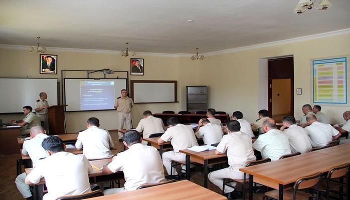 В АВВУ им. Г.Алиева проводятся учебно-методические сборы