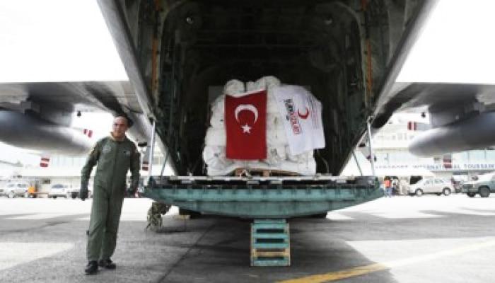 Турция направила помощь пяти странам