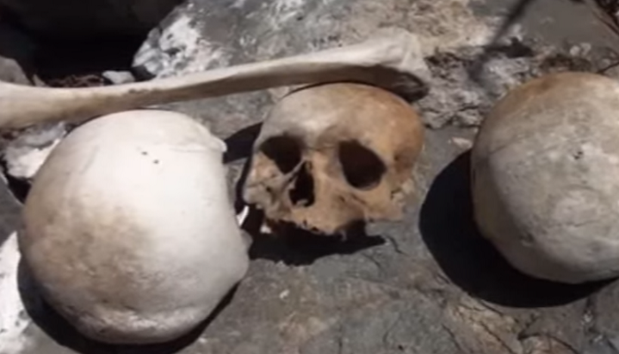 Tovuzda içərisində insan qalıqları olan mağaralar aşkarlanıb