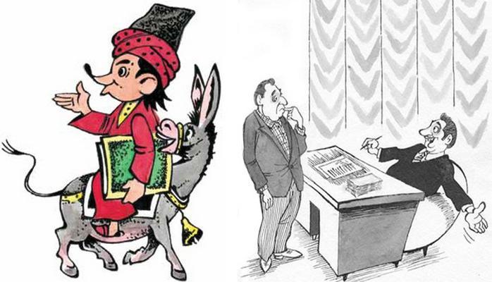 Азербайджанская карикатура в СССР и после его распада