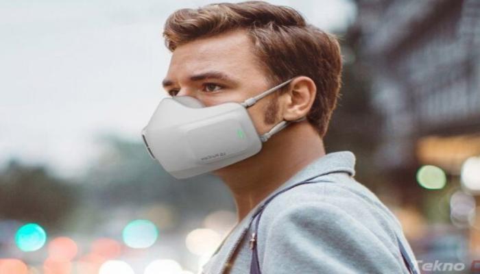 LG представила электронную маску с очистителем воздуха