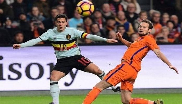 Сборные Бельгии и Голландии сыграли вничью в товарищеском матче