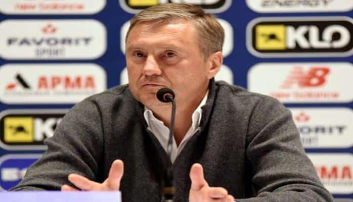 Киевское 'Динамо' прекратило сотрудничество с главным тренером