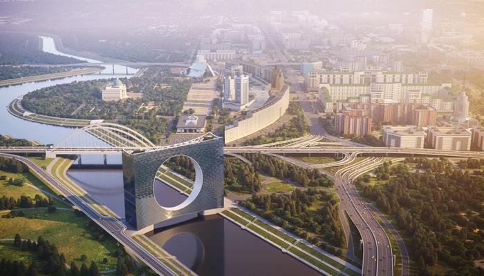 Kazakistan'da Bir Nehir Üzerinde Yükselecek, Gözünüzü Alamayacağınız Kule: Güneş Kulesi