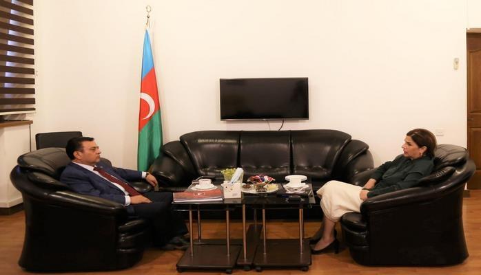 Официальный представитель посольства Турции посетил Центр Перевода Азербайджана